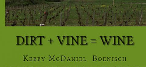 "She's back! Author Kerry McDaniel Boenisch to sign copies of ""Dirt+Vine=Wine"" at Bells Up on Sunday, May 29."