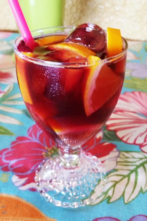 """Introducing """"The Bellobang"""" Sangria, the perfect summer party drink."""