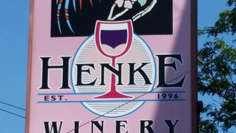 Cheers to Henke Winery—one of Bells Up's mentors—for 20 years in business.