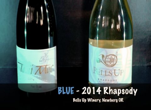 Bells Up Rhapsody 2014 Pinot Blanc featured in Episode 151 of Northwest Wine Night TV