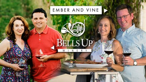 See What You Missed at Bells Up's First Winemaker Dinner with Ember and Vine