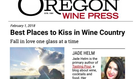 "Oregon Wine Press Picks Bells Up as One of the ""Best Places to Kiss in Wine Country"""