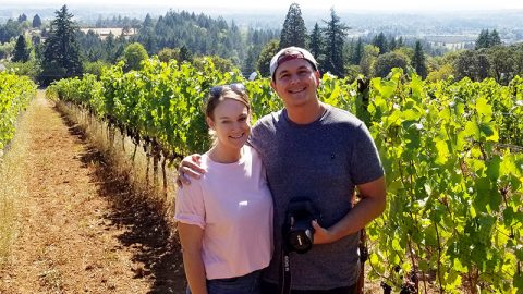 "Winery Reflections Feature Calls Bells Up ""A Small but Formidable Producer"""
