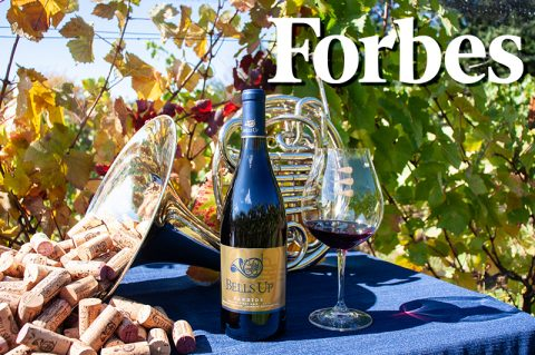 "Forbes Rates 2017 Candide Among ""Best Pinot Noirs Willamette Valley Has To Offer"""