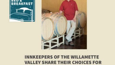 Bells Up Winery #2 pick by Innkeepers of Willamette Valley for Thanksgiving Open House visits