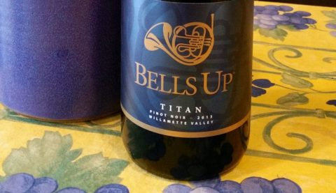 "Winerabble's Review of Bells Up 2013 Titan Pinot Noir: ""Excellent"""