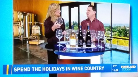 Bells Up Winemaker Dave Specter Featured on KGW's Portland Today Show.