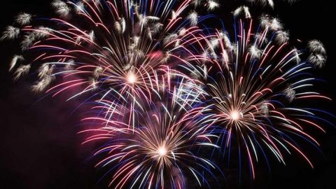 Bells Up Fanfare Club: Independence Day Potluck and Fireworks in the Vineyard