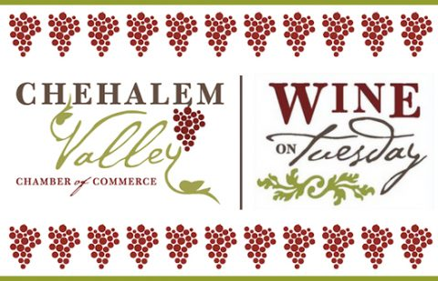 """Bells Up hosts Chehalem Valley Chamber's """"Wine on Tuesday"""" event, April 11, 2017"""