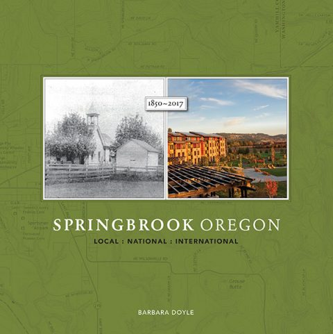 "Author Barbara Doyle Returns to Bells Up Twice During Thanksgiving Open House Hours to Sign Copies of ""Springbrook Oregon"""