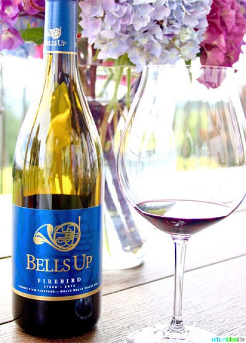 "Urban Bliss Life Names Bells Up's 2015 Firebird Syrah One of ""Top 10 Wines To Serve At Your Next BBQ"""