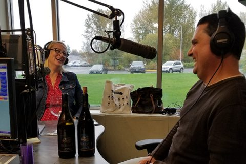 Missy Maki of The Simple Kitchen Shares an In-Studio #bellsupmoment with Winemaker Dave Specter
