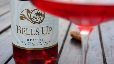 "2018 Prelude Estate Rosé Called ""Complex, Vibrant and Electrifying"" by Winery Reflections"