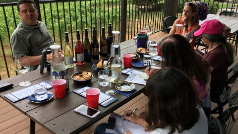 Dallas Wine Chick Shares Bells Up Story