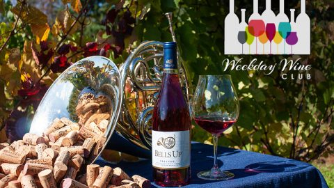 2018 Prelude Estate Rosé of Pinot Noir Featured by Weekday Wine Club