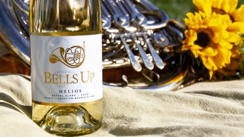 Vino-Sphere Names Bells Up's 2018 Helios Seyval Blanc A Top Wine of 2019
