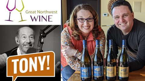"Great Northwest Wines Names Bells Up ""Unofficial Chehalem Mountains Winery of The Tony Kornheiser Show"""