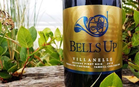 2018 Villanelle Tonnelier Vineyard Reserve Pinot Noir Awarded 90 Points from Wine Enthusiast