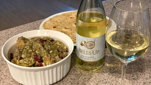 Pair Rhapsody Pinot Blanc with Greek-Inspired Lamb Recipe from Sips N Tips