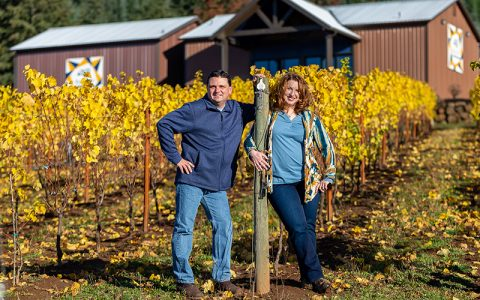 Weinnotes Features Bells Up's Wines, Story