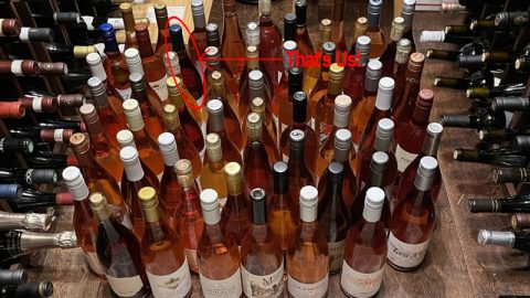 The Drunken Cyclist's 2021 Rosé Review Panel Awards Bells Up Prelude 92 Points